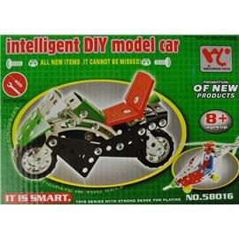 Kovová stavebnice model motorka