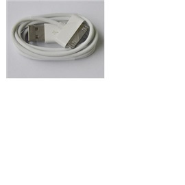 USB kabel Apple iPhone 4,4S MA591G/B, bílý (bulk)