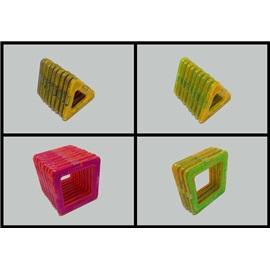 Magnetická stavebnice pro děti (49ks)